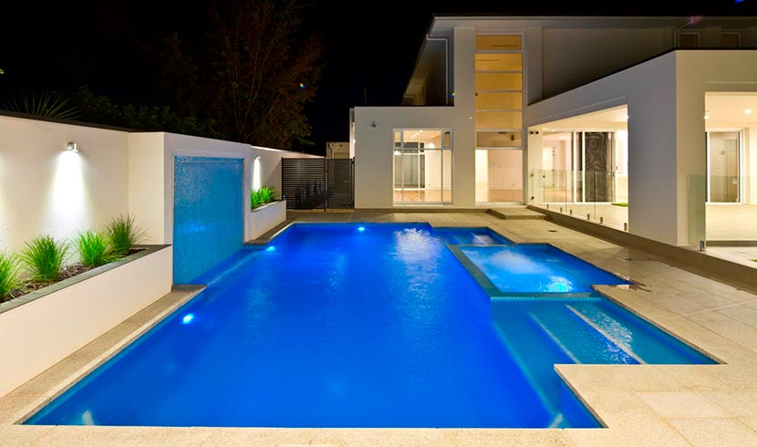 concrete pool