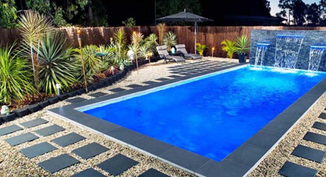 stunning small spaces Pool design
