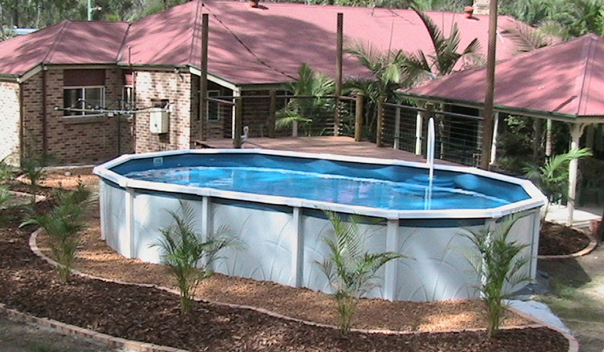 Image of: Above Ground Pools Melbourne Pools R Us