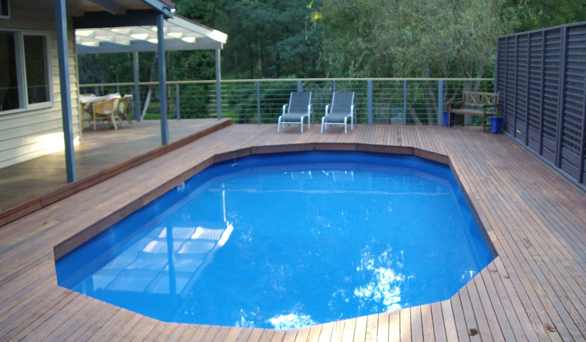 Above ground pools melbourne pools r us Above ground pool installation ideas